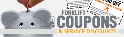 Coupons - Discount Forklift